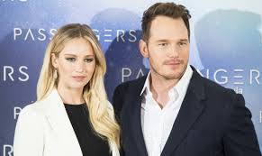 jennifer lawrence and chris pratt are comfortably put together at