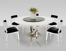 Dining Room Table Modern by Contemporary Round Dining Room Tables With Design Inspiration 5681