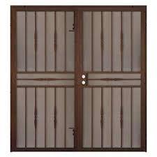 Home Depot Doors Exterior Steel Steel Security Doors Exterior Doors The Home Depot