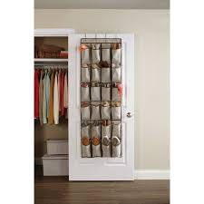 over the door organizer better homes and gardens 24 pocket over the door shoe organizer