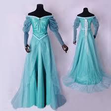 Alladin Halloween Costume Aliexpress Buy 2017 Mermaid Cosplay Costume Princess