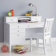 White Kids Desk With Hutch by Desk White Desk For In Trendy Office Perfect Combination Of