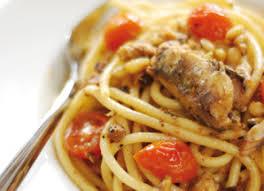 cuisiner des sardines fraiches recette spaghetti à la sardine