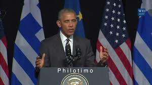 Flag Capital Management President Obama On Philotimo During His Athens Visit Youtube