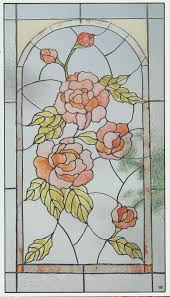 octagon stained glass window pin stained glass pattern art nouveau roses on pinterest imagens