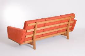 Hans Wegner Sofa by Hans Wegner Ge236 3 Seater Sofa Vampt Vintage Design
