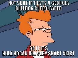 Georgia Bulldog Memes - popular georgia football memes from recent years