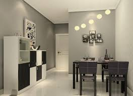 Dining Room Grey Egg Pendant Lamp For Dining Room Low Ceiling - Contemporary dining room lighting