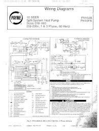 ph10pa payne wiring diagram for ph10 series 10 seer split system