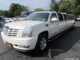 cadillac suv 2008 used 2008 cadillac escalade suv stretch limo limos by moonlight