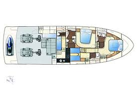 Luxury Yacht Floor Plans by Ferretti 591 Charter Yacht Croatia Dubrovnik