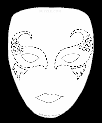 create your own halloween look try out these face painting stencils