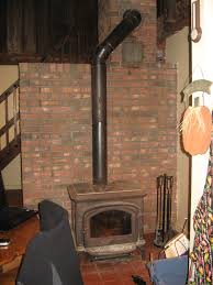 Count Rumford Fireplace The Russian Fireplace Behind The Woodstove That Whole Brick Mass