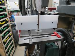 cutting board magna fence extension for a shopsmith bandsaw with