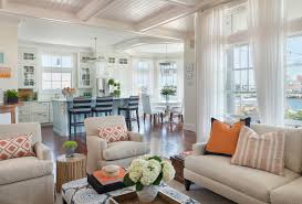 coastal livingroom coastal chic coastal living room providence by kate