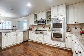 cool nice white modern kitchen with new appliances design