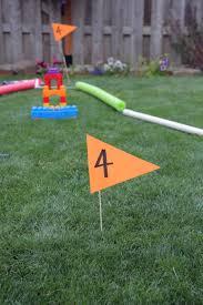 Backyard Agility Course Outdoor Fun Backyard Mini Golf Course Kix Cereal