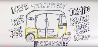 video understand the great indian auto driver commuter clash