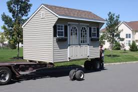 trailer garage storage shed delivery with the mule sheds unlimited