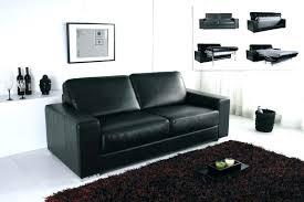 canap cuir noir but canap design noir et blanc deco et noir canape et