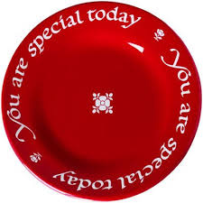 you are special plates you are special today plate with pen