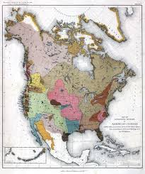 Us Mexico Map Maps Of Native American Tribes And Reservations In The United