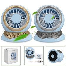 petit ventilateur de bureau nouveau design d oxygène anion mini ventilateur usb de