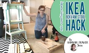 Ikea Bekvam Stool by Ikea Hack Make Something Monday Youtube