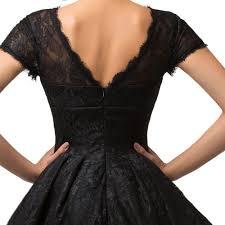 vivien u0027 black lace cocktail dress 1950sglam