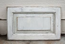 best distressed white cabinets easy diy distressed white