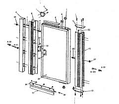 Peachtree Sliding Screen Door Parts by Parts Of A Sliding Glass Door Fleshroxon Decoration