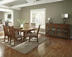 oak trestle dining table laurelhurst 92