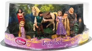 tangled cake topper disney tangled rapunzel pascal 7 figurine set cake topper