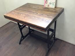 bureau fer forgé table bureau bois unique superb bureau fer et bois 14 bois rétro