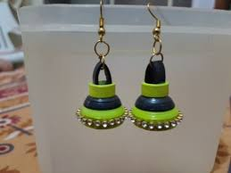 quilling earrings set quilling earring set at rs 120 pair earring set id 15758776288