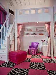 girls loft bed teen room ideas awesome bedrooms pinterest