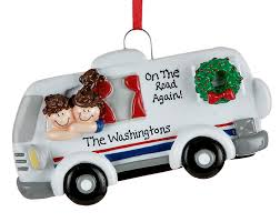 motor home personalized ornament