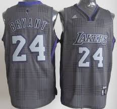 los angeles lakers 24 kobe bryant black rhythm fashion jersey on