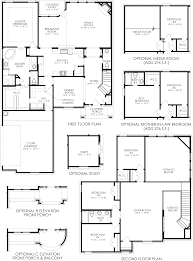New Homes Floor Plans The Mulberry Graham Ranch New Home Floor Plan North Richland Hills