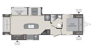 Camper Trailer Floor Plans 2018 Keystone Premier 30ripr Model