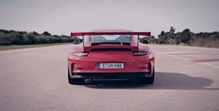 sick porsche 911 porsche 911 gt3 rs is unleashed on the test track autoevolution