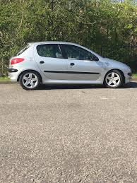 peugeot 206 5 door not 3 door corsa fiesta citroen c2 in