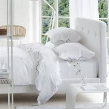 designers guild floreale grande natural embroidered sheets and