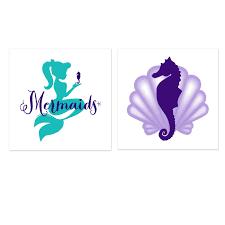 mermaids under the sea tattoos 8 birthdayexpress com