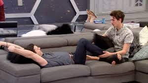 Free Hug Sofa by Day 37 04 16 3 24p Will U0026 Kev Cuddle On The Couch They Talk