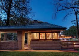 Modern Frank Lloyd Wright Style Homes Frank Lloyd Wright U0027s Adelman House In Wisconsin Receives Gorgeous