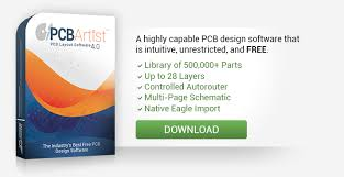 layout software free printed circuit board design free pcb artist software advanced