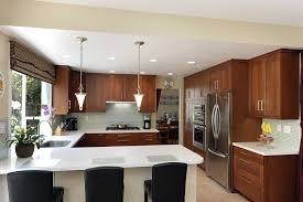 u shaped kitchen with island expert u shaped kitchen layouts modern design layout island desk