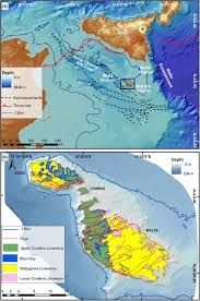 Mediterranean Sea World Map by Late Quaternary Coastal Landscape Morphology And Evolution Of The