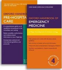 Oxford Press Desk Copy Oxford Handbook Of Emergency Medicine And Oxford Handbook Of Pre